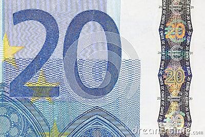Szczegółu euro