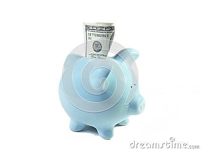 Szczęśliwa świnko banku