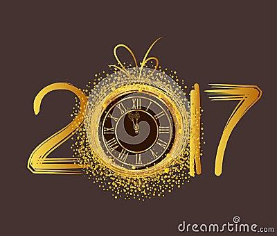 Znalezione obrazy dla zapytania zegary nowy rok  ilustracje