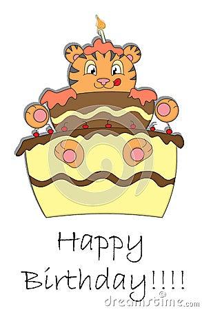 Szczęśliwy urodziny.