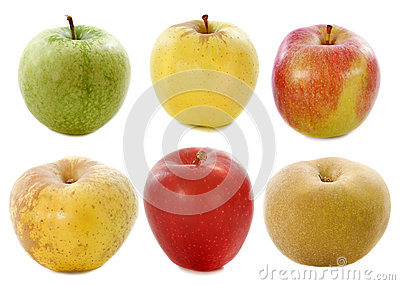 Sześć jabłek
