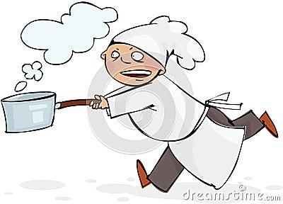 Szef kuchni bieg