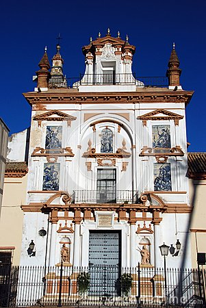 Szpitalny De Los angeles Caridad, Seville, Hiszpania.