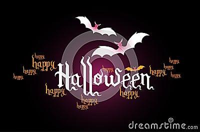 Sztandar kreatywnie Halloween