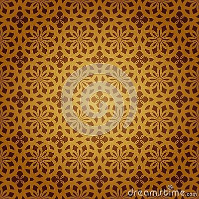 Sztuka wektor geometryczny islamski