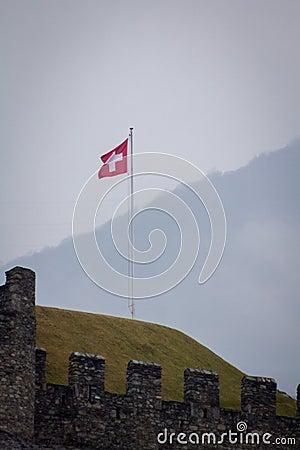 SZWAJCAR flaga