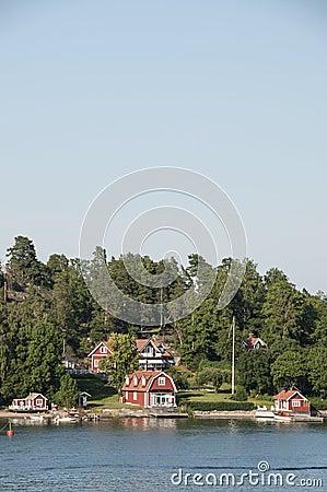 Szwedów domy