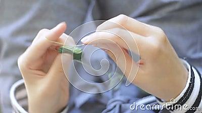 szydełkowanie zdjęcie wideo