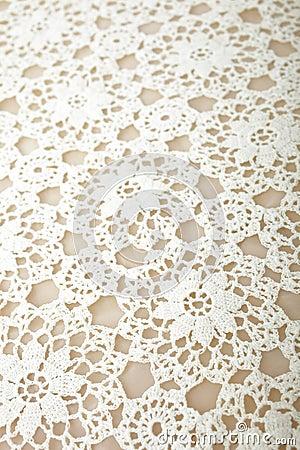 Szydełkowy tablecloth
