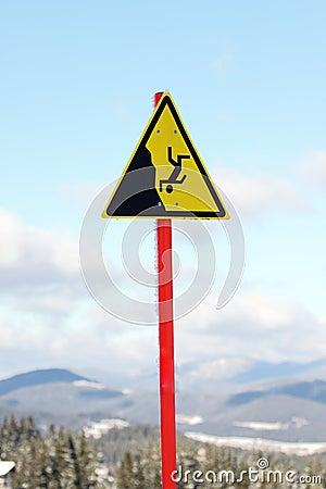 Szyldowy ostrzeżenie