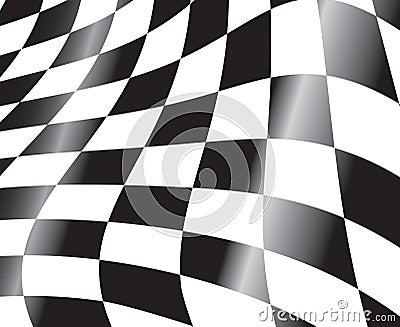 Tävlings- flagga