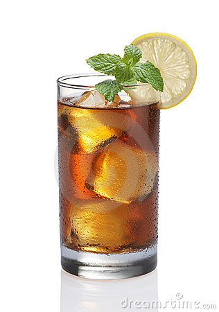 Té del limón del hielo