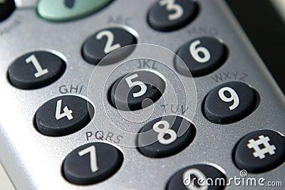 Téléphone, clavier numérique