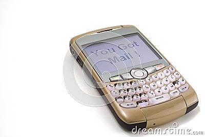Téléphone de mûre Photo stock éditorial