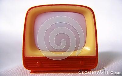 Télévision en plastique