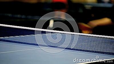 Tênis de mesa video estoque
