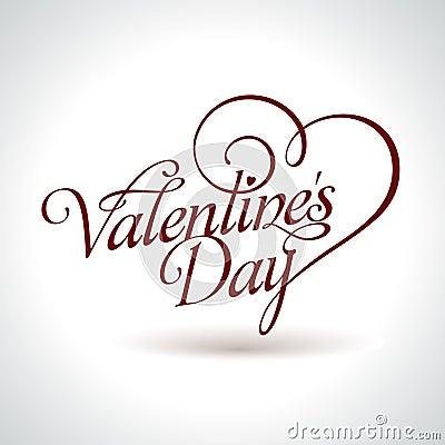Título de la tarjeta del día de San Valentín