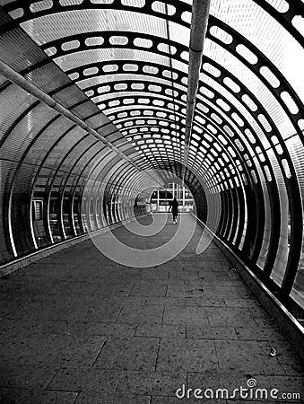 Túnel das zonas das docas
