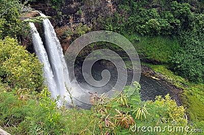 Tęcza Spada (Duża wyspa, Hawaje)