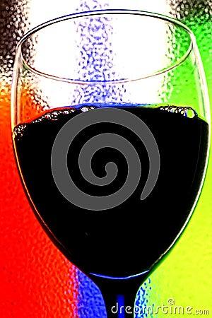 Tła abstrakcjonistyczny wino