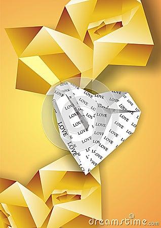 Tła origami
