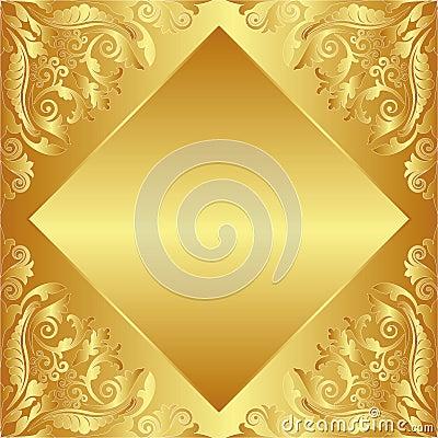 Tło złoty