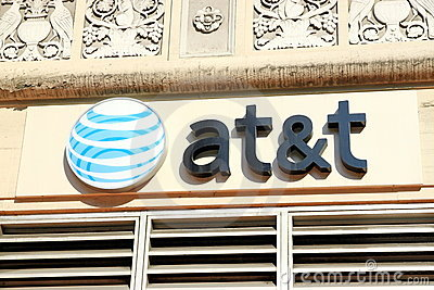 AT&T Editorial Stock Photo