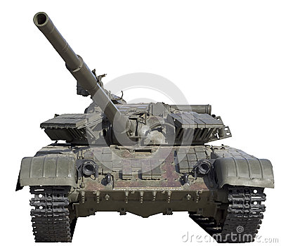 被隔绝的坦克
