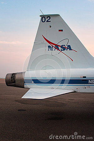 T-38 Talon NASA - Astronaut Jet Trainer Editorial Stock Image