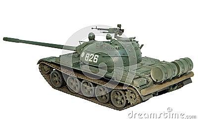 T-55A Scale Model