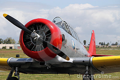 T-6 Texan Editorial Stock Image