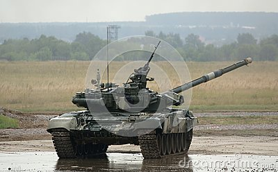 T-90 is a Russian main battle tank