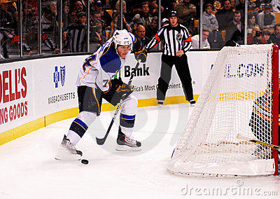 T.J. Oshie St. Louis Blues Editorial Photo