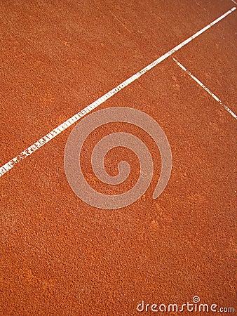 Tennis court T-line (20)