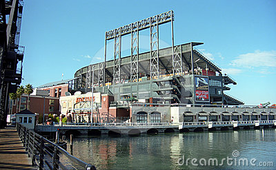 AT&T Park - San Francisco Giants Editorial Photo