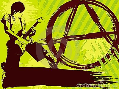 Tła punk rock