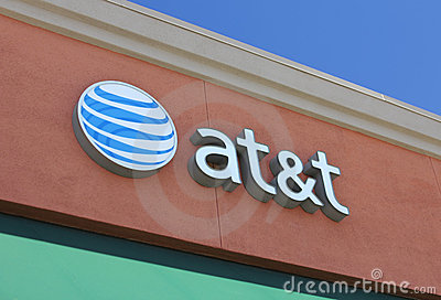AT&T Retail Outlet Editorial Image