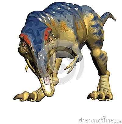 T-rex Tyrannosaurus rex , dinosaur  illustration