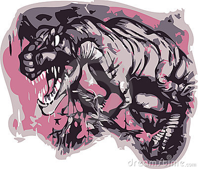 T-rex vector