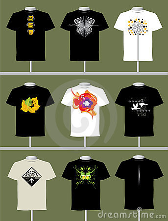 Free T Shirt Design Stock Photography - 9564782