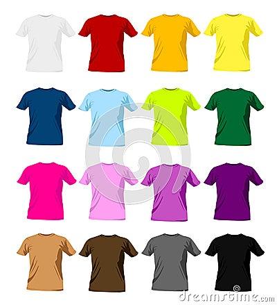 Free T-shirt Templates Stock Photography - 13900952