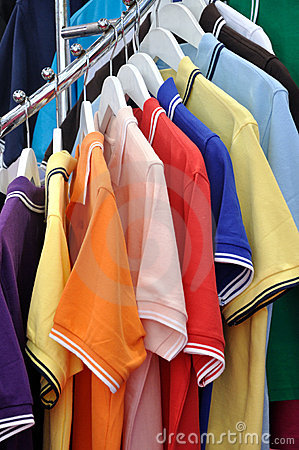 T-shirt in various color