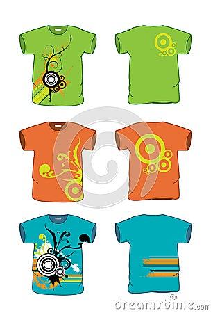 T-Shirt width Grunge vector