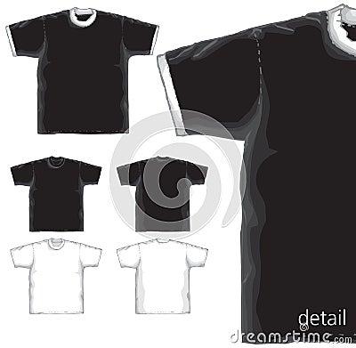 T-shirts basics models.