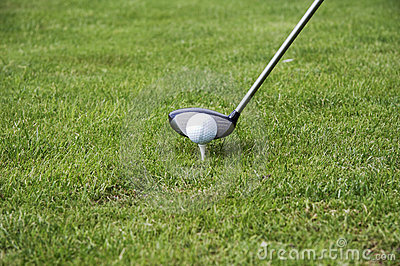 T-Stück-oben der Golfball 02