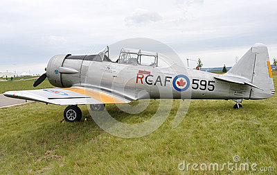 T-6 Texan Aircraft Editorial Stock Image