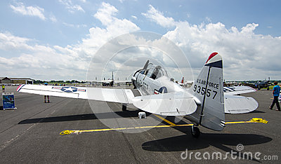 T-6 Texan Editorial Image