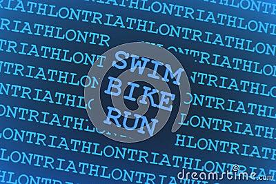Tła triathlon