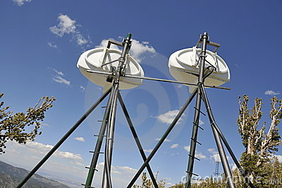 T.V. Antennas on Mtn.Peak