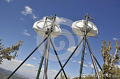 T.V. Antennas on Mtn.Peak